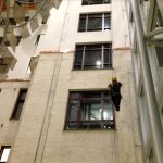 Klatring på fasade