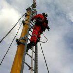 Tilkomstteknikker fra High Access Solutions i høyden